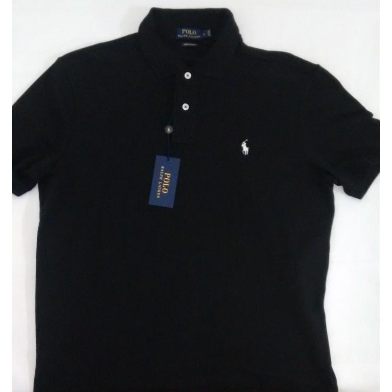 d4188ca8c6fff Camisa Polo Ralph Lauren negra - variedadesenlinea