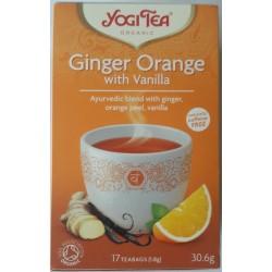 Tee Yogi Tea Ginger Orange with Vanilla Tea