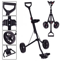 Carrito Golf 2 ruedas plegable