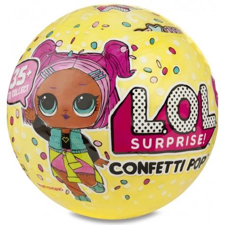 Juguete LOL muñeca sorpresa confeti pop serie 3