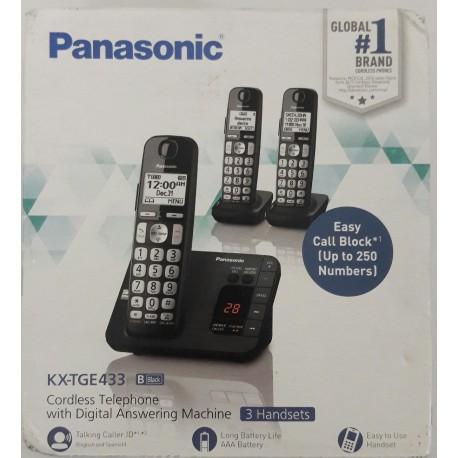 Teléfono Panasonic Inalámbricos 3