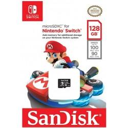 Memoria microSDXC para Nintendo Switch