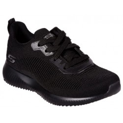 Tenis Skechers BOBS SPORT SQUAD - TOUGH TALK negro