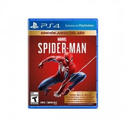 Juego Spiderman Goty PS4
